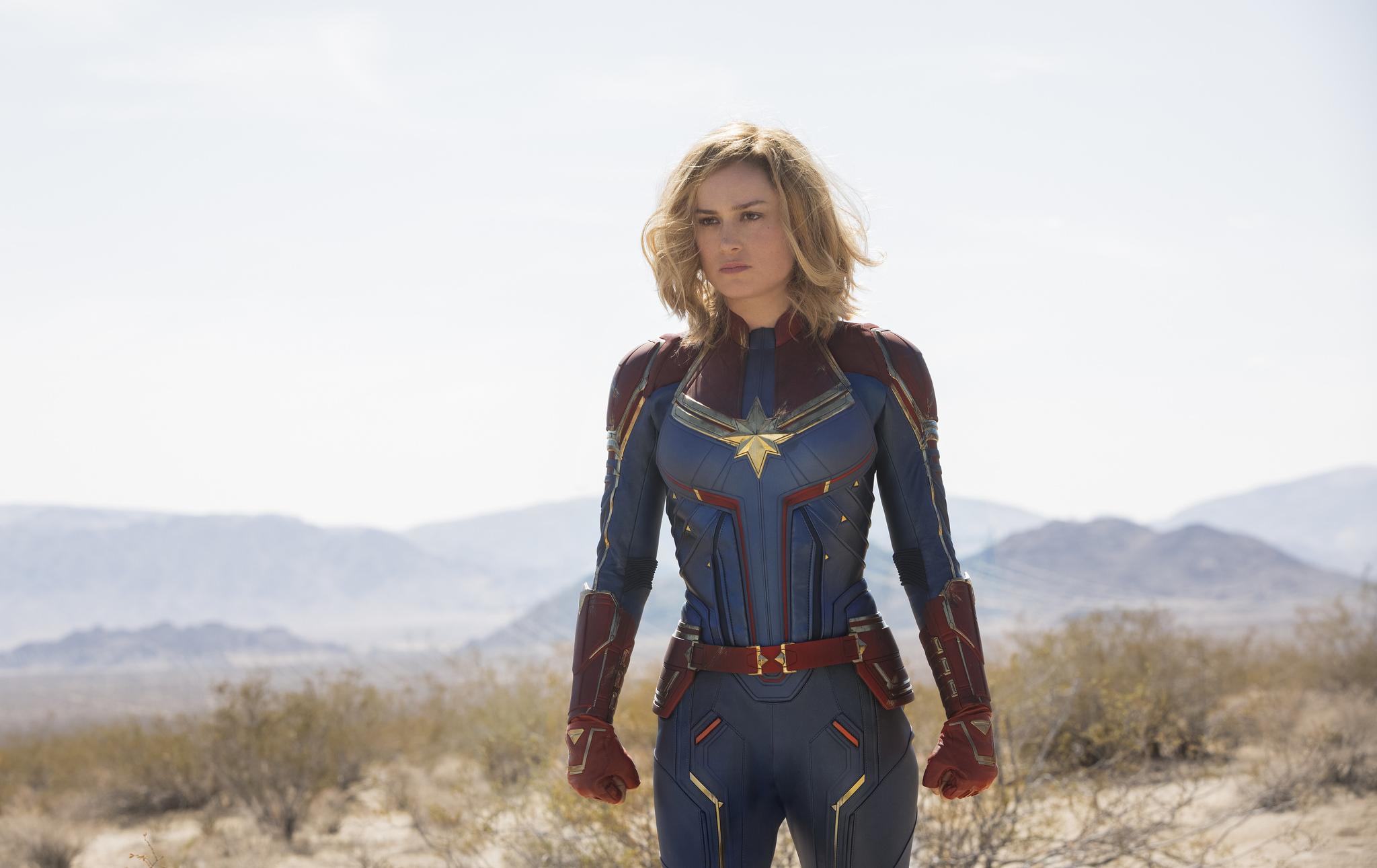 Marvel показали, как Бри Ларсон готовилась к своей роли
