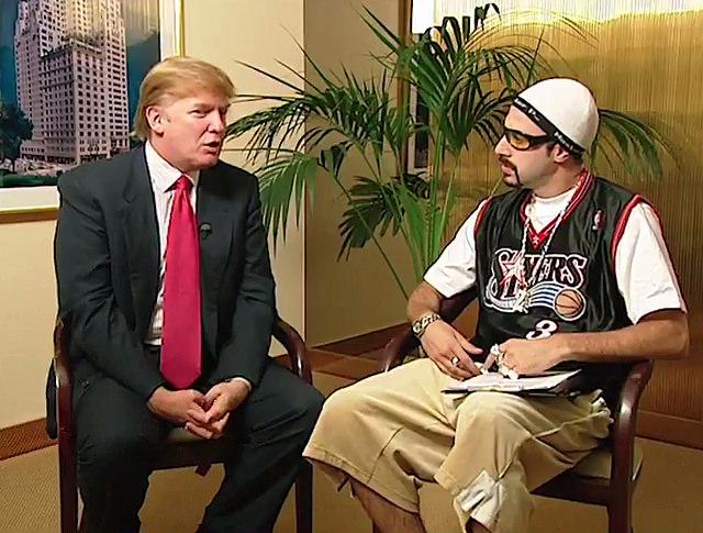 Коэн и Дональд Трамп