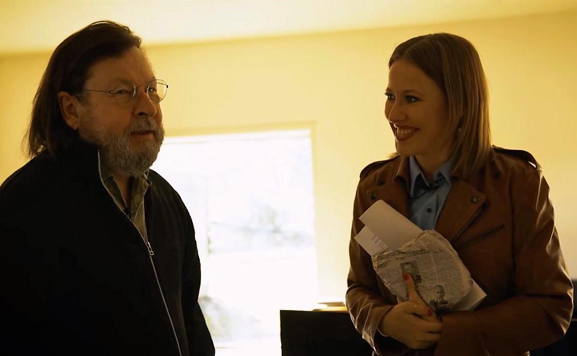 Ларс фон Триер дал интервью Ксении Собчак