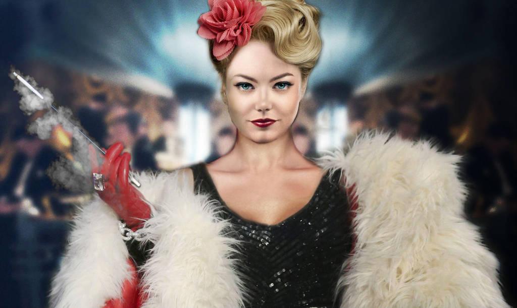 Эмма Стоун в образе будущей героини