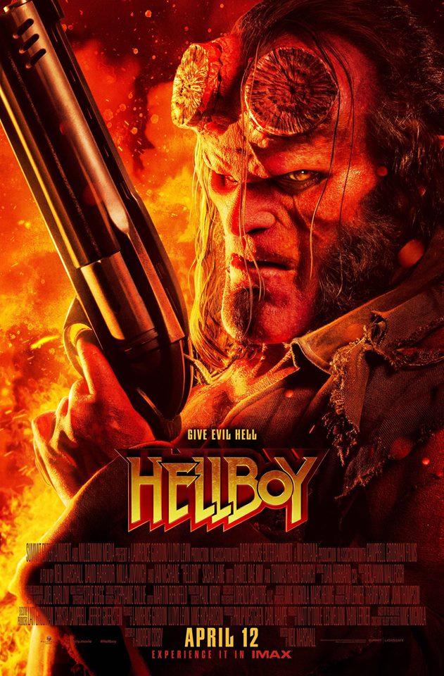 Официальный постер блокбастера Хеллбой