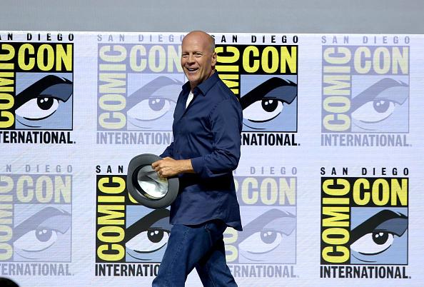 Брюс Уиллис на Comic-Con