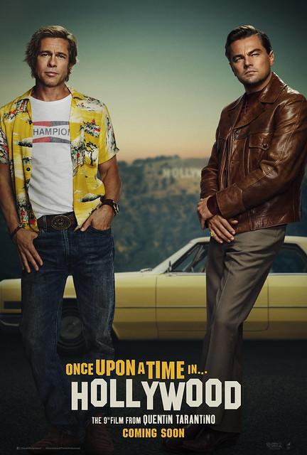 Постер фильма Однажды в Голливуде