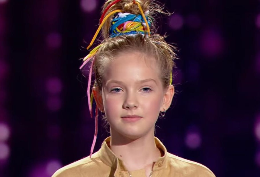 Варвара Кошевая прошла в финал Голос. Дети