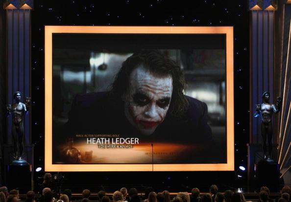 Хит Леджер получил Оскар посмертно за роль Джокера