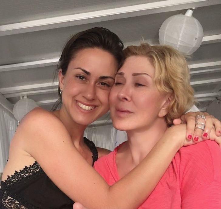 Татьяна Плаксина и Любовь Успенская