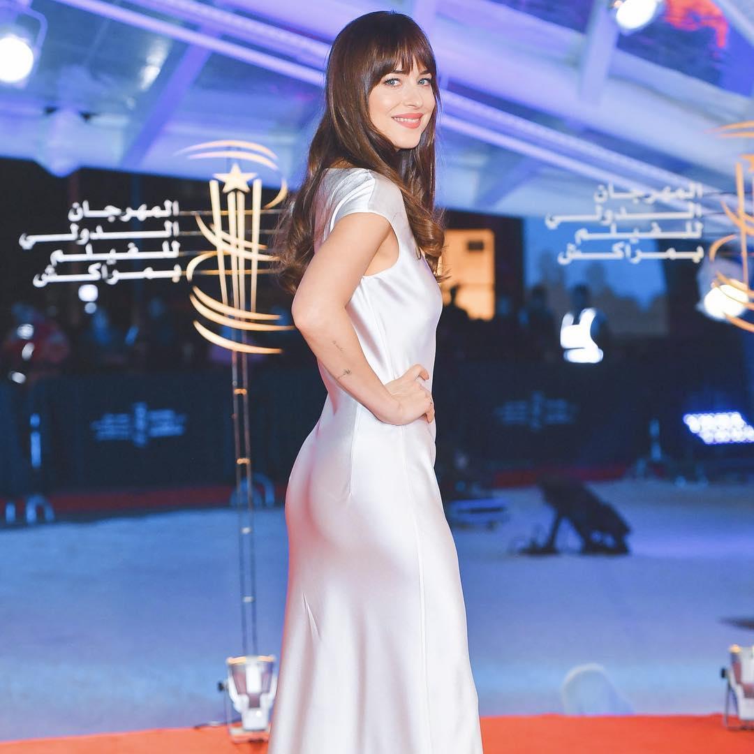 Звезда 50-ти оттенков серого надела платье украинского дизайнера