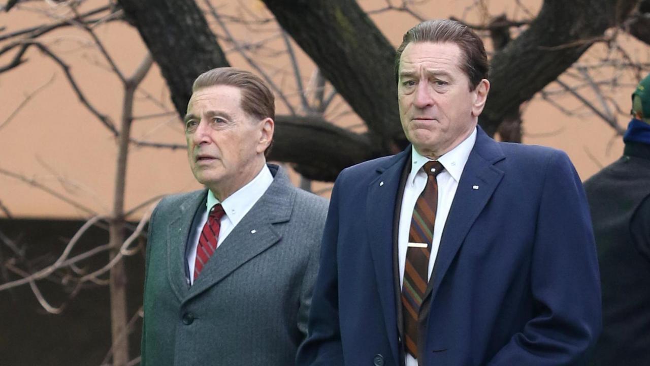 Кадр из фильма Ирландец