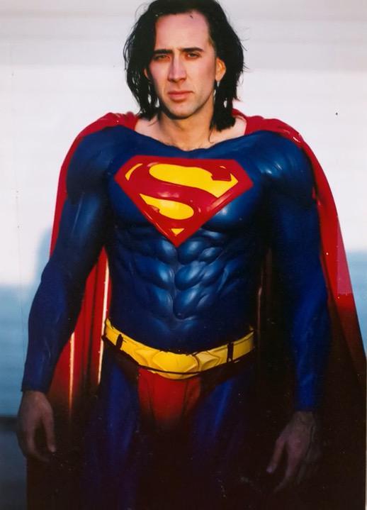 Супермен Жив с Николасом Кейджем