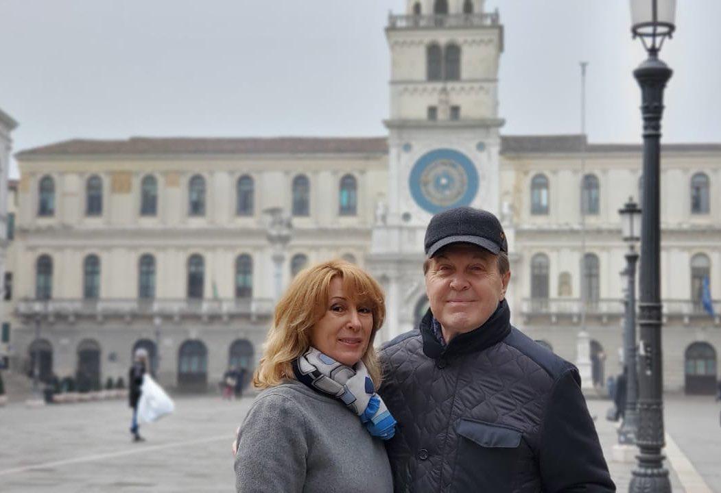 Лев Лещенко с женой посещали Италию месяц назад