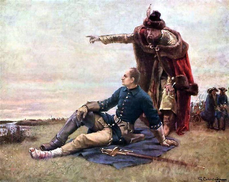 Картина с изображением Мазепы
