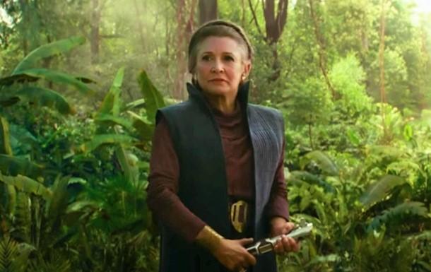 Кэрри Фишер в девятых Звездных Войнах
