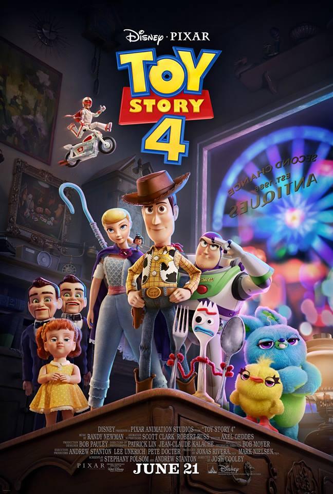 Постер мультфильма История Игрушек 4