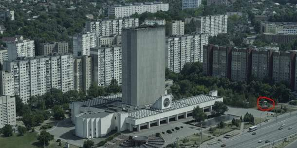 Памятник ликвидаторам ЧАЭС