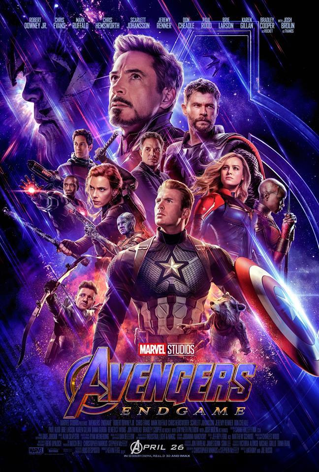 Официальный постер фильма Мстители 4: Финал