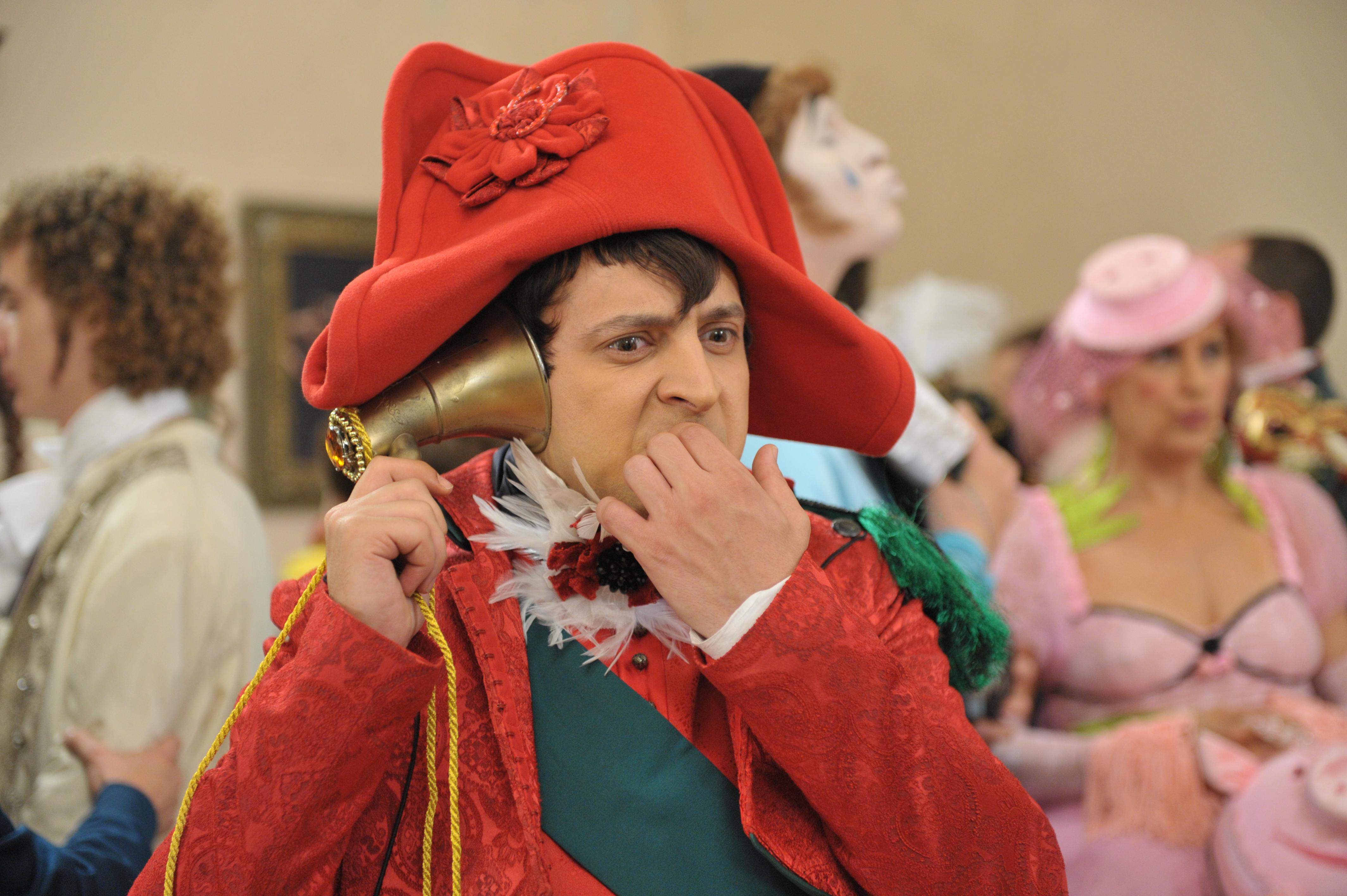 Владимир Зеленский в роли Наполеона Бонапарта