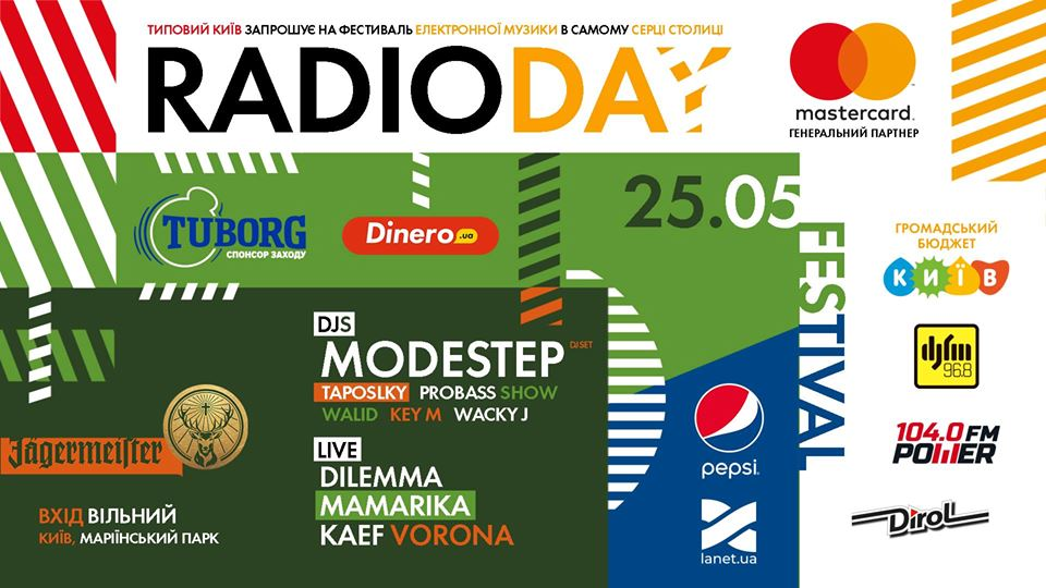 Radioday free open air