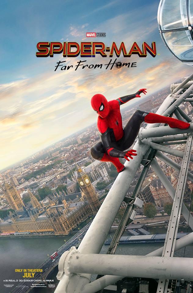 Новый постер Человек-Паук: Вдали от дома