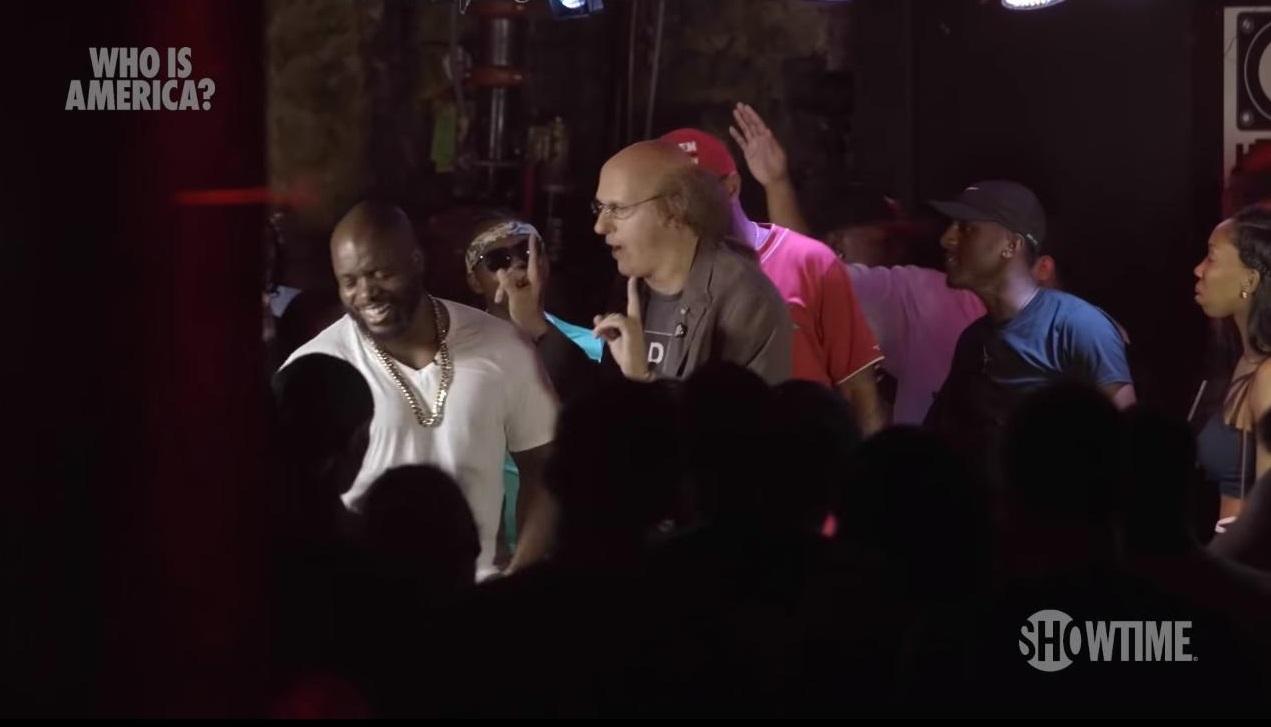 Саша Барон Коэн учавствует в рэп-баттле