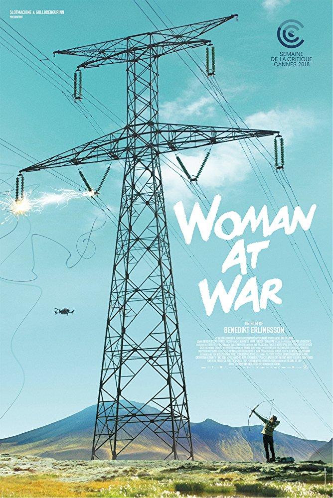 Англоязычный постер фильма Женщина на войне