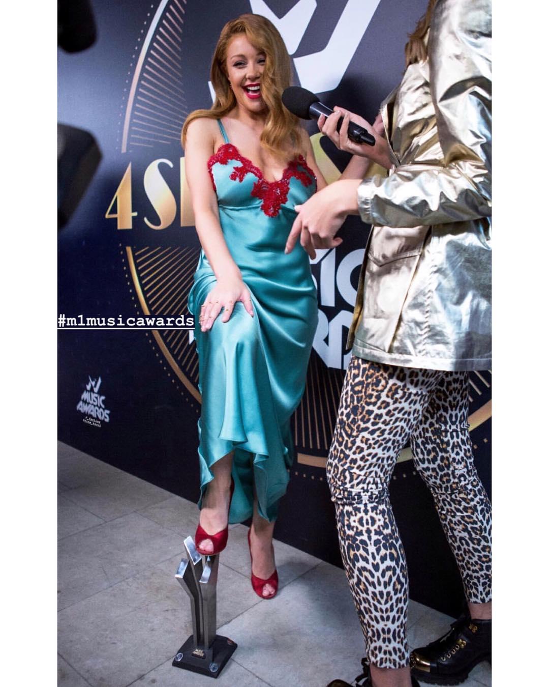 Певица Тина Кароль на вручении премии м1 music awards