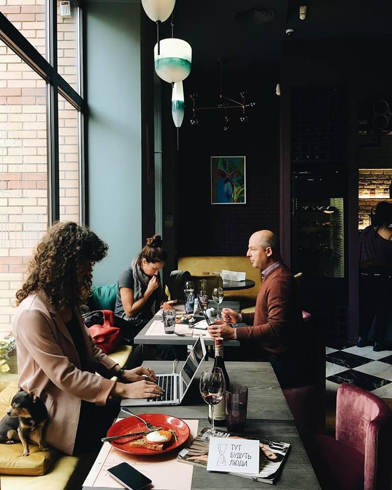 В Киеве открылось новое кафе