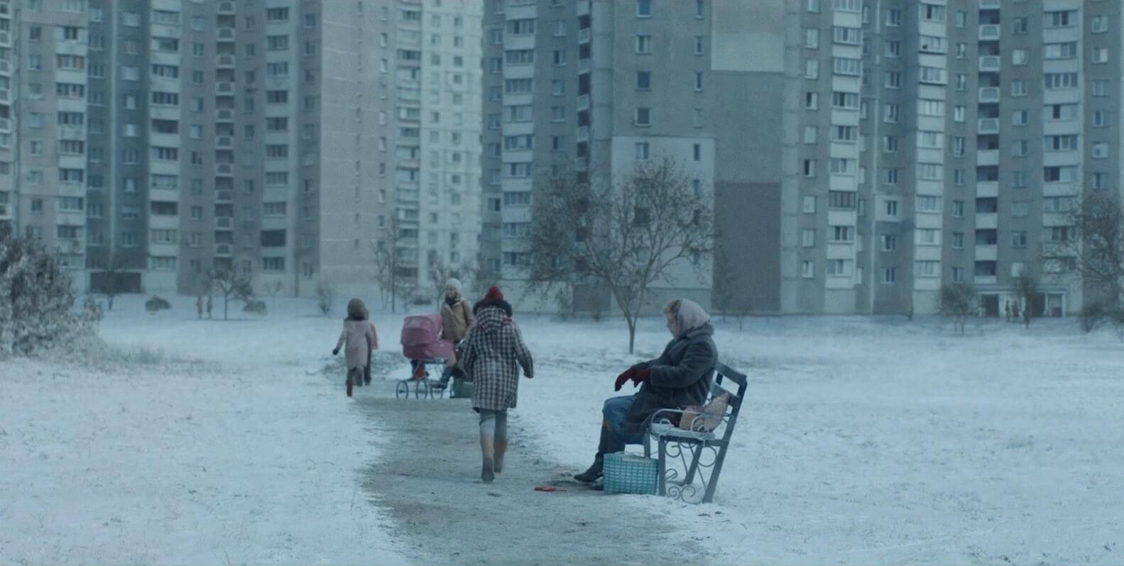 Несколько сцен Чернобыля сняли в Киеве