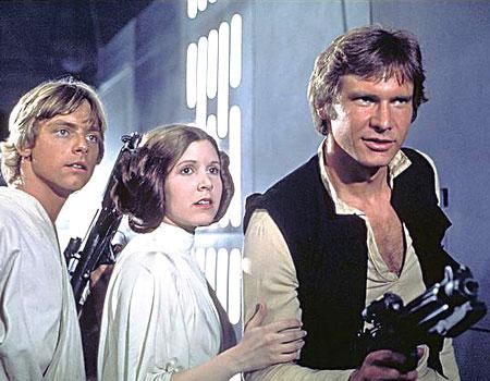Главные герои Звездных войн