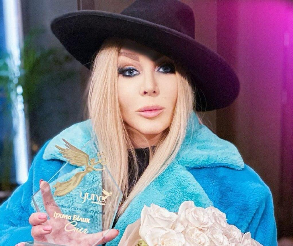 ОП назвали Ирину Билык королевой украинской поп-музыки