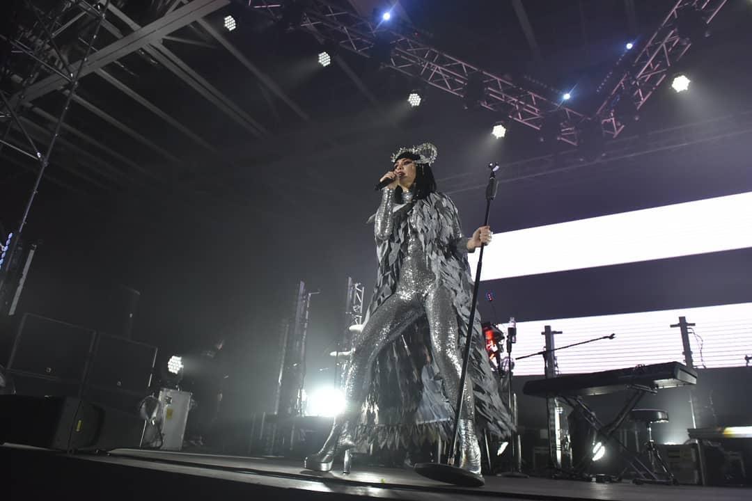 Юлия Санина на концерте