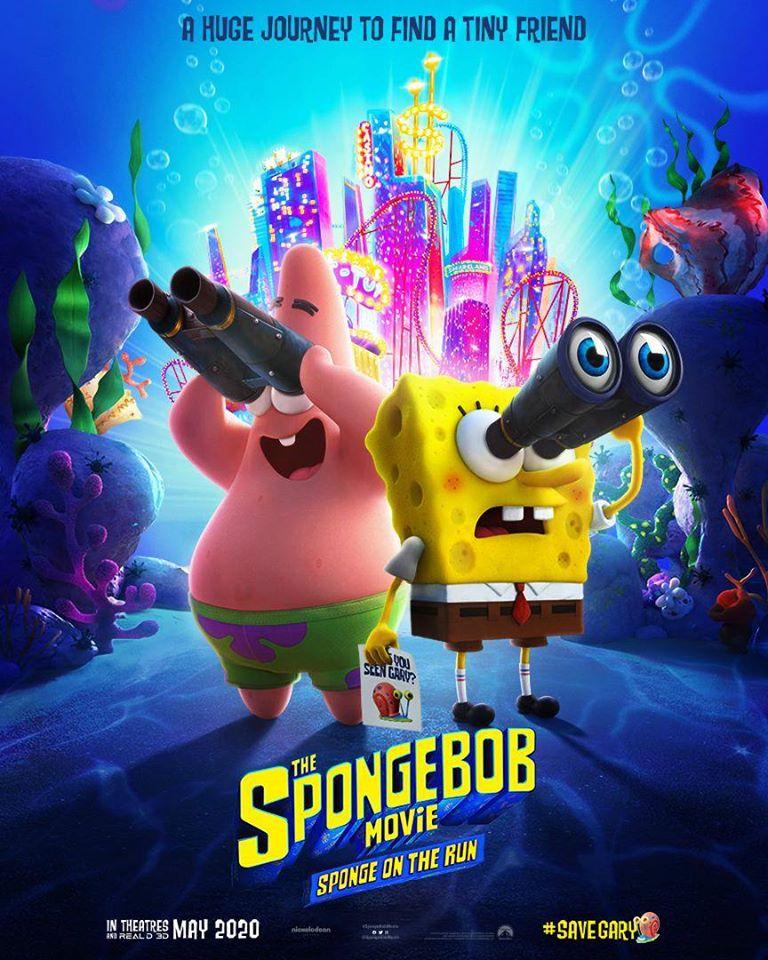 Постер мультфильма Губка Боб 3
