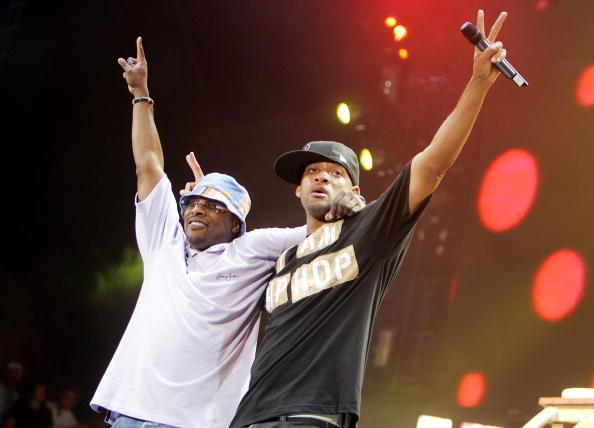 Уиллм Смит в хип-хоп дуэте с DJ Jazzy Jeff