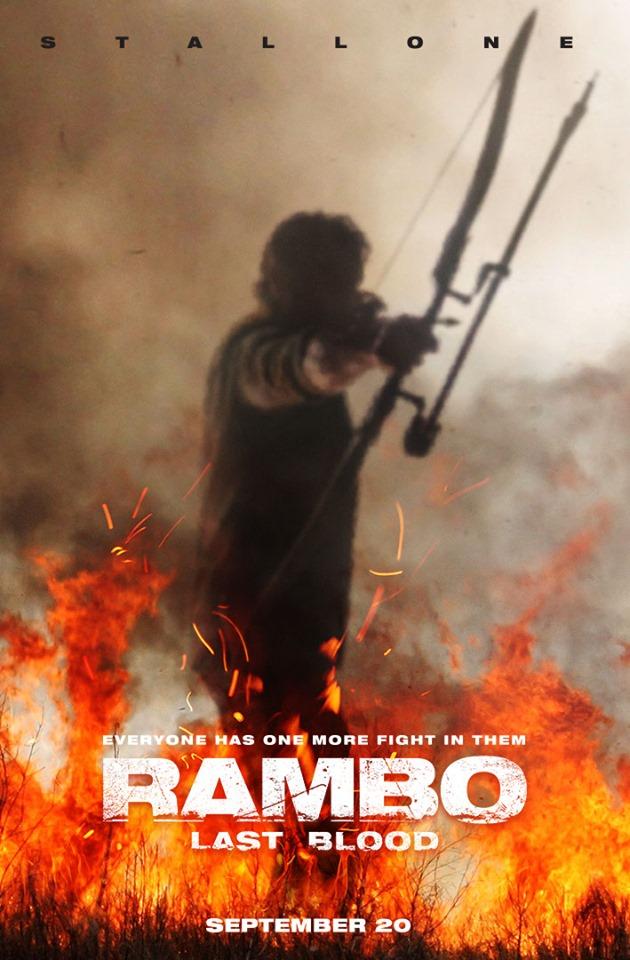 Постер фильма Рэмбо: Последняя кровь