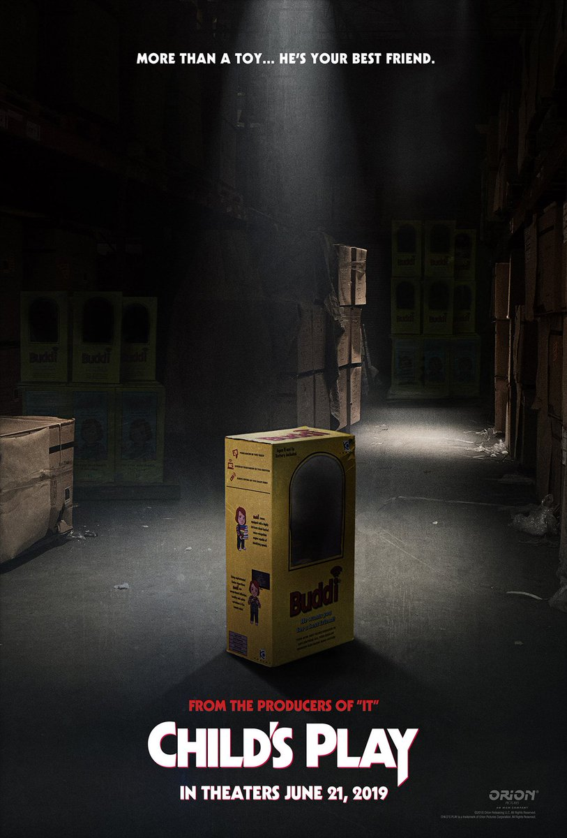 Официальный постер Детских игр