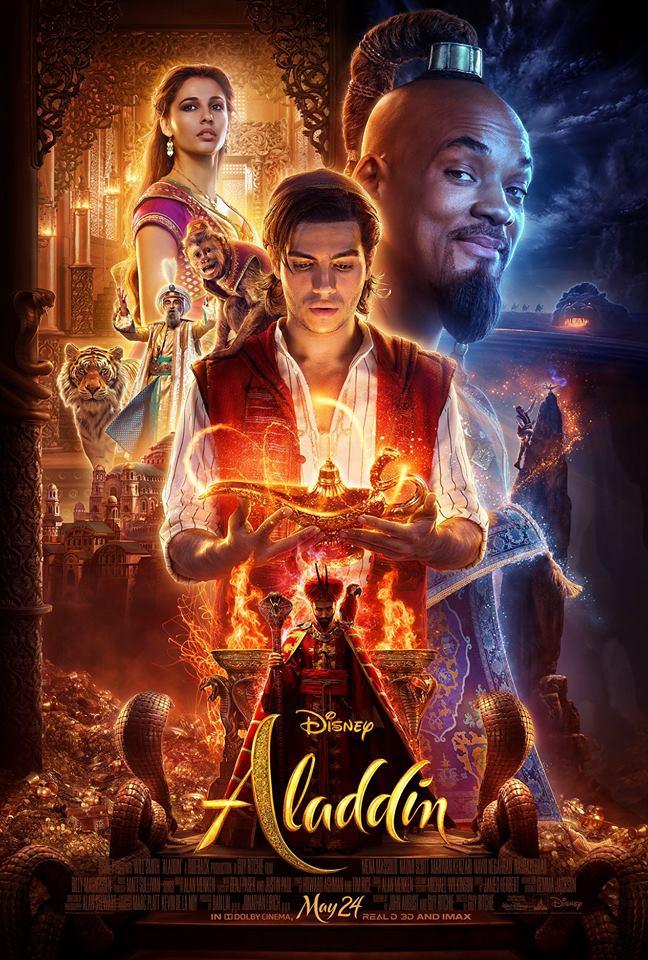 Новый постер фильма Аладдин