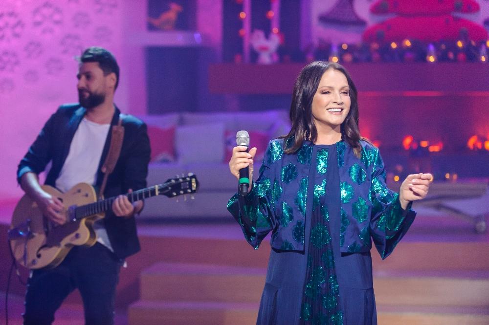 София Ротару на новогоднем концерте канала Украина