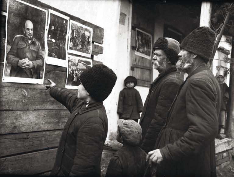 Коллективизация началась в 1927