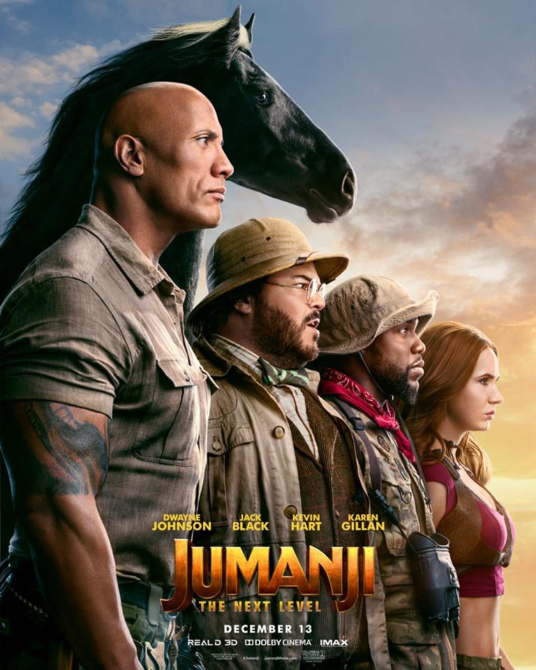 Новый постер фильма Джуманджи: Новый уровень