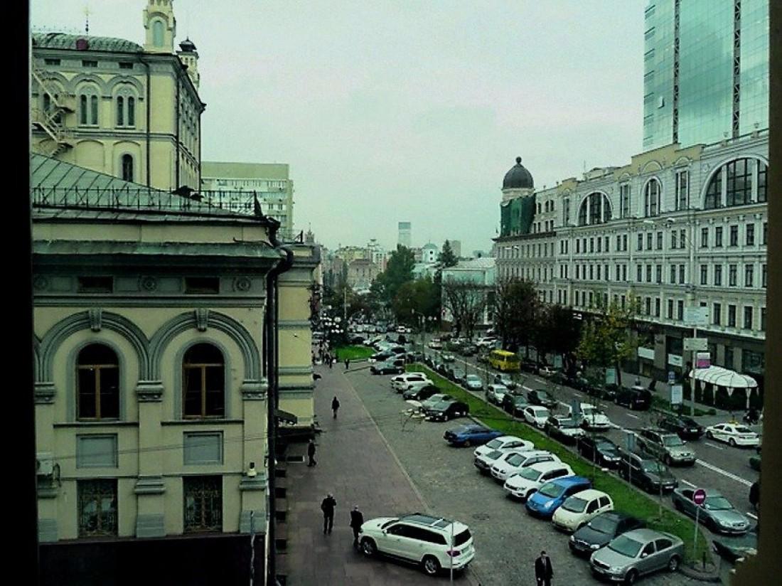 Вид на оперный театр из дома Кличко