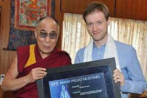 Дмитрий Ицков и Далай-лама