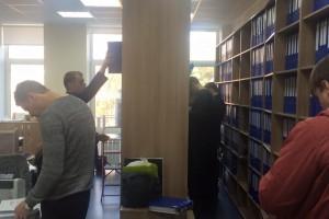 Обыск в главном офисе Синэво