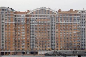 Дом, где Кравчук имеет квартиру