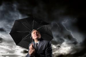 В 2011 году облака сгустились над десятью когда-то успешными компаниями