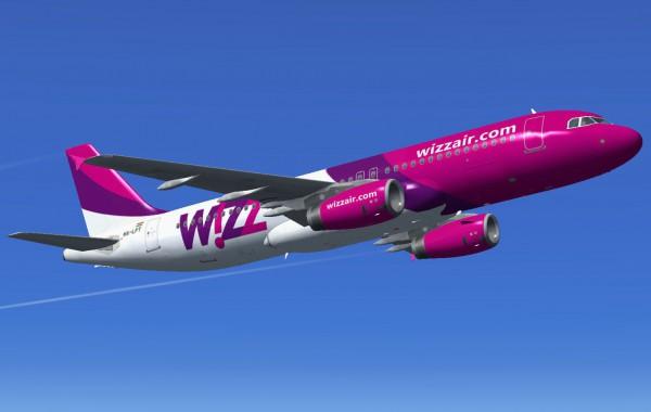WizzAir - самый популярный лоукостер в Украине