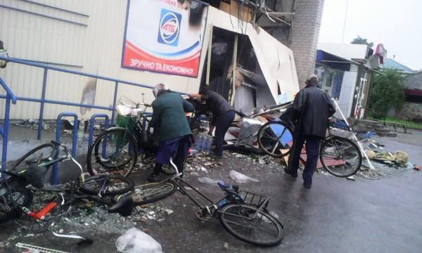 Супермаркеты в некоторых поселках ДНР находятся в плачевном состоянии