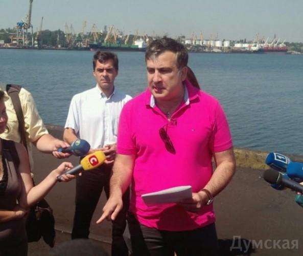 Саакашвили заявил об отстранении Крука