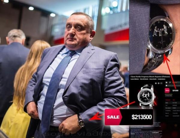 Часы Богдана Дубневича