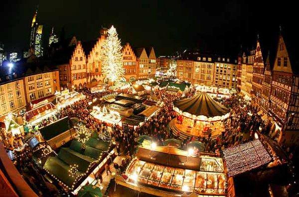 Самая большая рождественская ярмарка в Вене