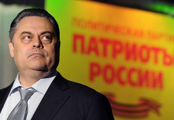 Геннадий Семигин лидер партии Патриоты России