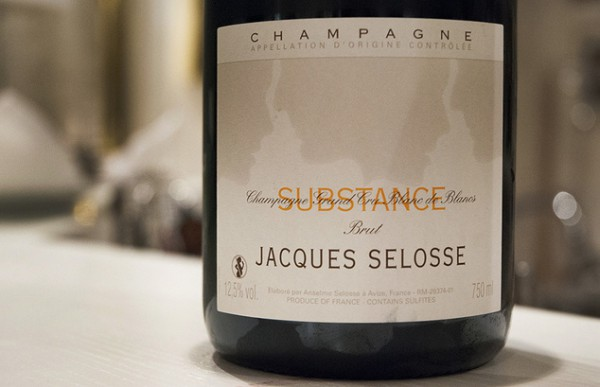 Jacques Selosse, Substance